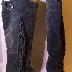 Carlos Santana Shoes - CARLOS Fringed Cowboy Boot